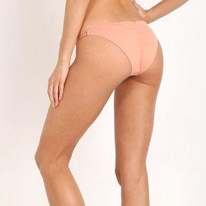 Eberjey so solid bikini bottoms in blush large